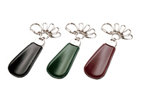 Cordovan Shoehorn Keychain