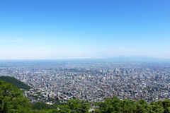 Full view of Sapporo City