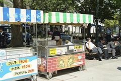 Corn on the cob vendor