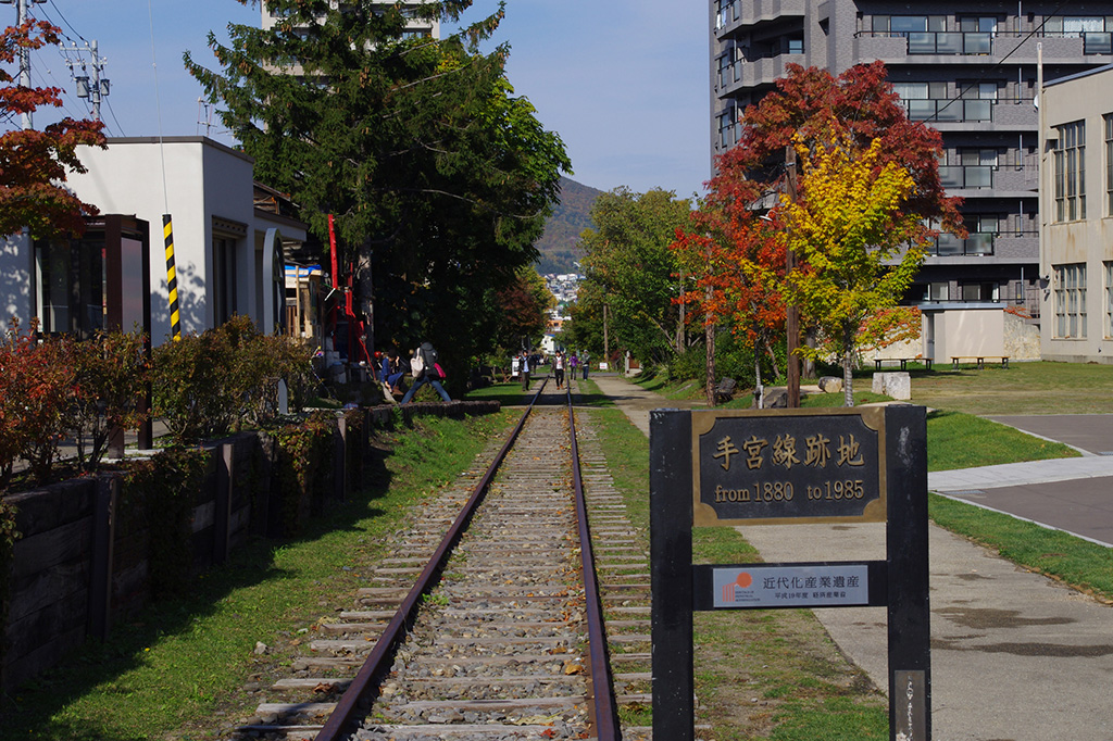 Former Japan National Railways Temiya Line