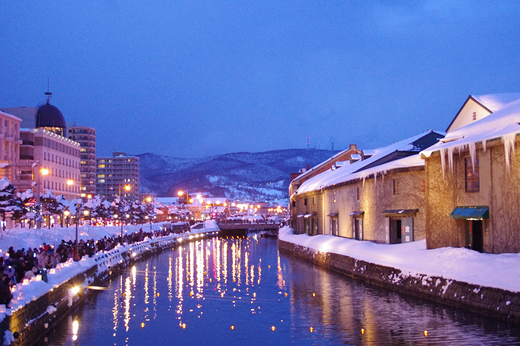 Otaru Snow Light Path Festival (Otaru Canal)